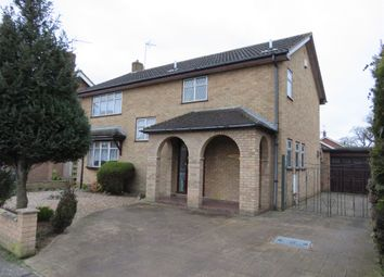 Thumbnail 4 bed detached house for sale in Long Meadow Walk, Carlton Colville, Lowestoft