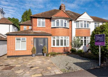 4 bed semi-detached house for sale in St. Stephens Avenue, Ashtead KT21