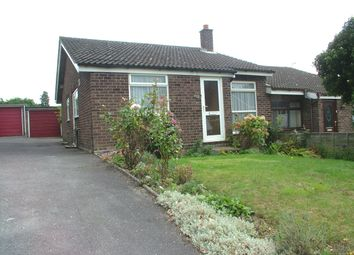Thumbnail 2 bed property for sale in St. Davids Close, Long Stratton, Norwich