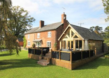 Thumbnail 4 bed detached house for sale in Bearwood, Leominster