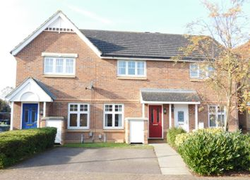 Thumbnail 2 bedroom terraced house for sale in Tulip Close, Biggleswade, Bedfordshire