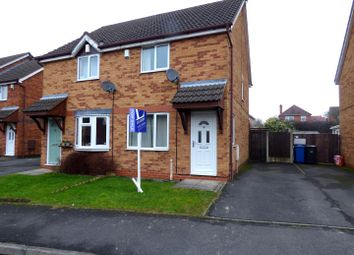 Thumbnail 2 bedroom semi-detached house for sale in Pendleside Way, Littleover, Derby