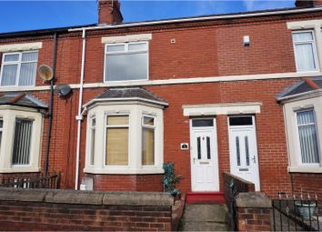 Thumbnail 2 bed terraced house for sale in Woodhorn Road, Ashington