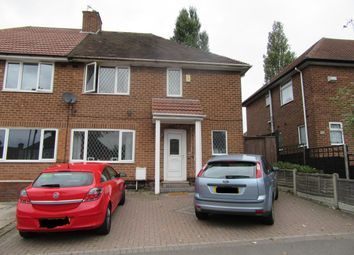 Thumbnail 4 bedroom semi-detached house for sale in Witton Lodge Road, Erdington, Birmingham