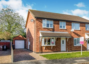 3 bed semi-detached house for sale in Whitehouse Road, Ruskington, Sleaford NG34