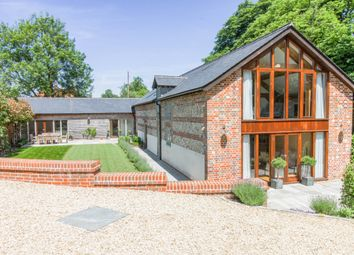 Thumbnail 5 bed barn conversion for sale in Tangley, Andover, Hampshire