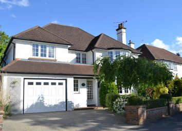Thumbnail 5 bedroom detached house to rent in Woodcote Park Road, Epsom