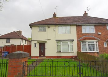 Thumbnail 3 bed semi-detached house for sale in Sedgemoor Road, Liverpool, Merseyside