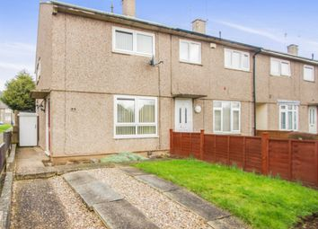 Thumbnail 2 bedroom town house for sale in Queens Park Way, Eyres Monsell, Leicester