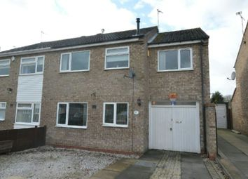 Thumbnail 4 bedroom semi-detached house for sale in Westleigh Road, Glen Parva, Leicester