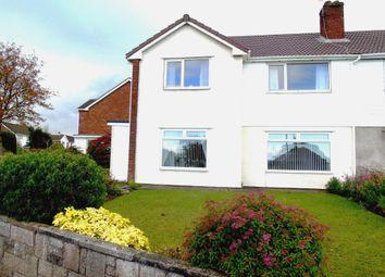 Thumbnail 2 bed flat for sale in Dochdwy Road, Llandough, Penarth
