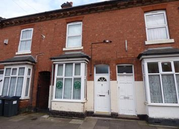 Thumbnail 2 bedroom terraced house for sale in Palace Road, Small Heath, Birmingham, West Midlands