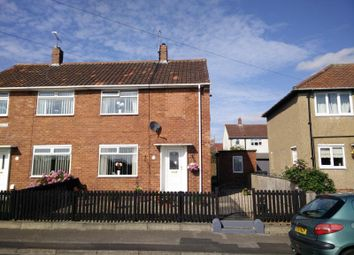 Thumbnail 2 bedroom semi-detached house for sale in Langdale Avenue, Watergate, Crook, Co Durham