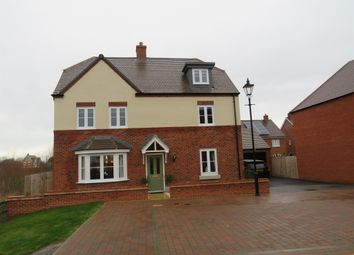 Thumbnail 5 bed detached house for sale in Northwick Close, Great Denham, Bedford