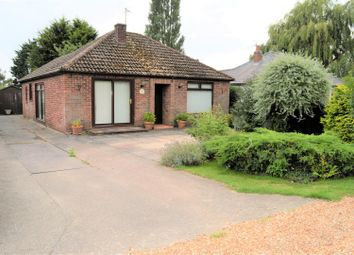 Thumbnail 2 bed detached bungalow for sale in Lynn Road, Terrington St. Clement, King's Lynn