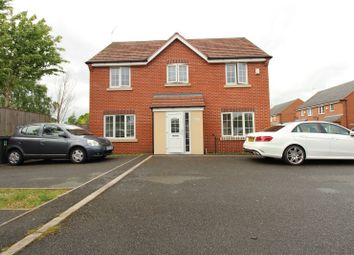 Thumbnail 4 bed link-detached house for sale in Market Garden Close, Thurmaston, Leicester