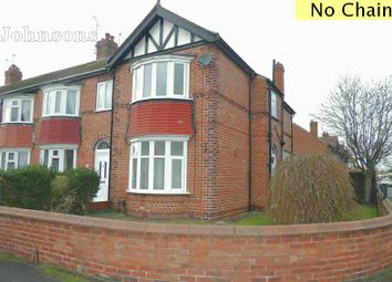 Thumbnail 3 bed end terrace house for sale in Strathmore Road, Town Moor, Doncaster.