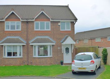 Thumbnail 3 bed semi-detached house for sale in Libra Close, Liverpool