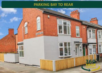 Thumbnail 3 bed end terrace house for sale in Lorne Road, Clarendon Park, Leicester