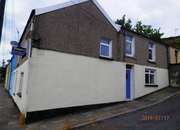 Thumbnail 1 bed end terrace house for sale in Morris Street, Treherbert, Rhondda Cynon Taff.