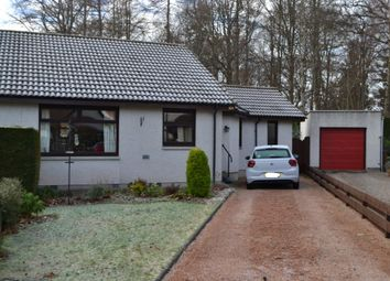 Thumbnail Semi-detached bungalow for sale in 32 Woodside Drive, Forres