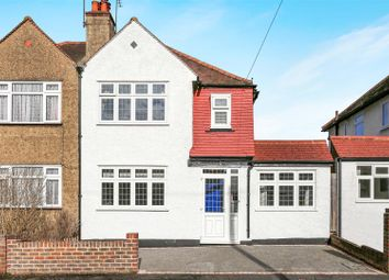 Thumbnail 3 bed semi-detached house for sale in Lumley Gardens, Cheam, Sutton
