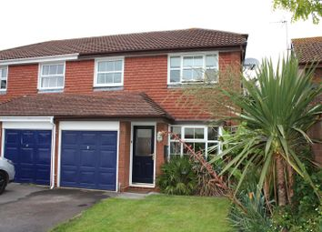 Thumbnail 3 bed semi-detached house to rent in Nimrod Close, Woodley, Reading, Berkshire
