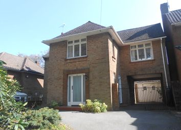 Thumbnail 4 bed detached house to rent in Chalk Hill, West End, Southampton