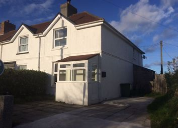 Thumbnail 3 bedroom end terrace house to rent in Tyringham Row, Lelant, St. Ives