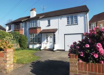 Thumbnail 4 bed semi-detached house for sale in Limes Road, Egham