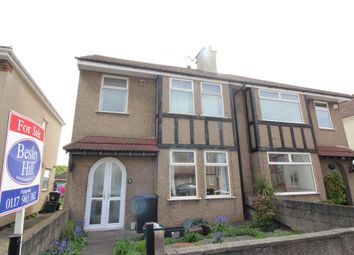 Thumbnail 3 bed semi-detached house for sale in Beachgrove Road, Fishponds, Bristol