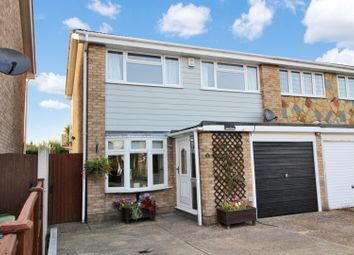 Thumbnail 3 bed semi-detached house for sale in Rushley Close, North Grays