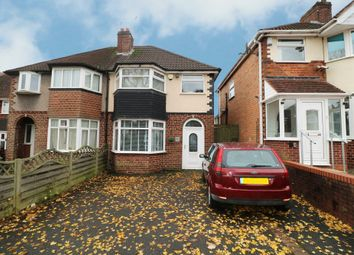 Thumbnail 3 bed semi-detached house for sale in Delrene Road, Hall Green, Birmingham