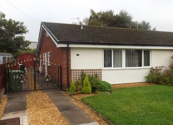 Thumbnail 2 bed bungalow for sale in Bollin Close, Winsford