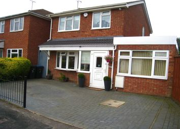 Thumbnail 3 bed detached house for sale in Delage Close, Longford, Coventry