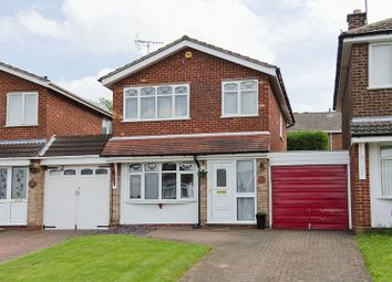 Thumbnail 3 bed detached house for sale in Dugdale Close, Cannock