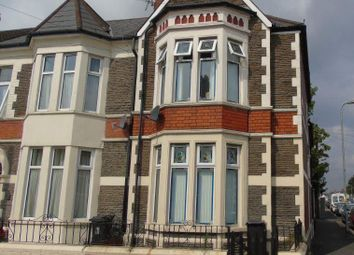 Thumbnail 1 bed property to rent in Beda Road, Canton, Cardiff