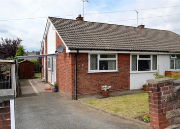 Thumbnail 2 bed semi-detached bungalow for sale in Powis Avenue, Oswestry