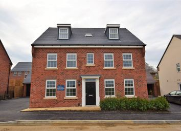 Thumbnail 5 bedroom detached house for sale in Line Way, Earls Barton, Northampton