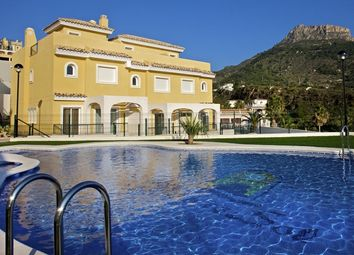 Thumbnail 3 bed town house for sale in Calpe, Alicante, Spain