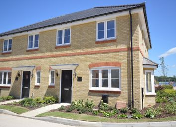 Thumbnail 3 bed semi-detached house to rent in Kingfisher Gardens, Shopwyke Lakes, Chichester