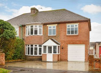 Thumbnail 4 bed semi-detached house for sale in Lealand Road, Drayton, Portsmouth