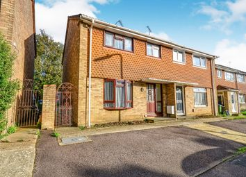 Thumbnail 3 bed semi-detached house for sale in Wavell Road, Southampton