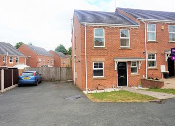 Thumbnail 2 bed town house for sale in Cricklewood Drive, Stoke-On-Trent