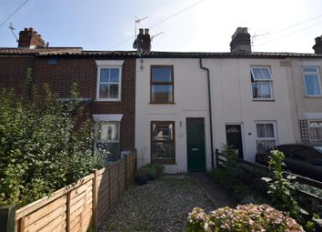 Thumbnail 2 bed terraced house for sale in Quebec Road, Norwich