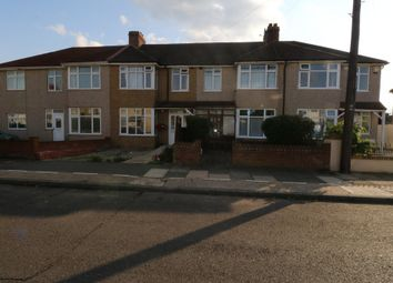 Thumbnail 3 bedroom terraced house to rent in Rothbury Avenue, Rainham, Essex