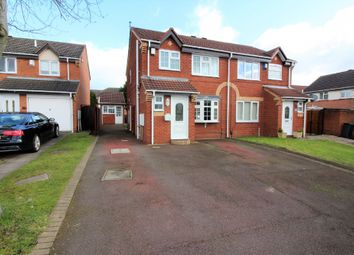 Thumbnail 3 bed semi-detached house for sale in Glaisedale Grove, Willenhall