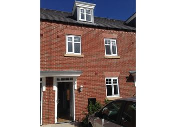 Thumbnail 3 bed town house for sale in Brooke Avenue, Northwich