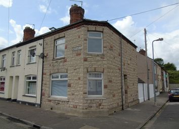 Thumbnail 2 bed end terrace house for sale in North Clive Street, Cardiff