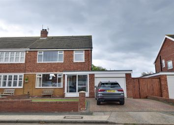 Thumbnail 3 bed semi-detached house for sale in Weardale Avenue, South Bents, Sunderland